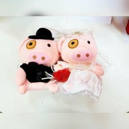 Wedding Bears (Piggies)