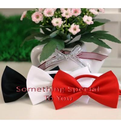 Bow Tie (Black/White)