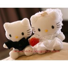 Hello Kitty Wedding Pair