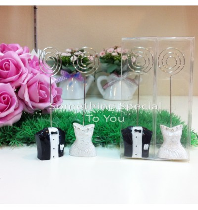 Bride & Groom Place Card Holder - as low as RM4.40/pair