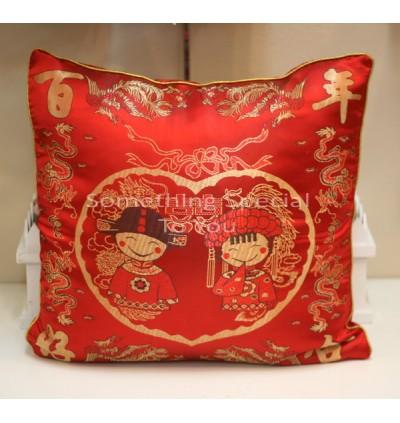 Chinese Cartoon Cushion Cover (2pc)