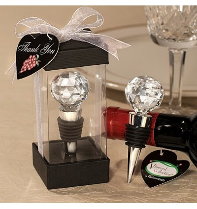 CRYSTAL GOLF BALL WINE STOPPER - as low as RM4.90/pc