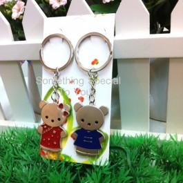 Bear Couple Keychain - as low as RM2.50/pair