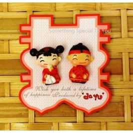 CHINESE COUPLE MAGNET - as low as RM2.70/pair