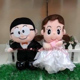 Nobita & Shizuka Wedding Doll (Premium Quality)