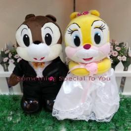 Chipmunks Wedding Doll (Premium Quality)
