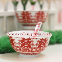Bowl Set with spoon (1pair set)