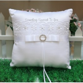 Lacey Ring Pillow