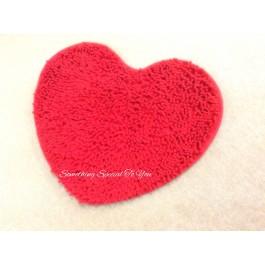 Heart Shaped Floor Mat