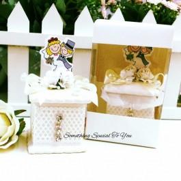 Wedding Couple Ceramic Jewel Box