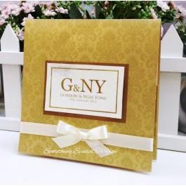 Couture Design Invites (Hard Envelope Type)