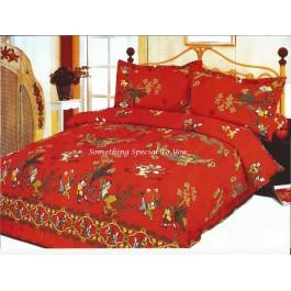 Comforter Set (Dragon & Pheonix with 100 Kids)