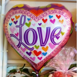 LOVE Foil Balloon 17inch