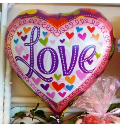 LOVE Foil Balloon 17inch