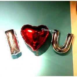 I 'Heart' U Set (Shipped Flat)