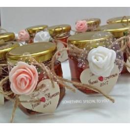 Romantic Honey In Jar Favor