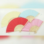 Garden Color Paper Bamboo Fan - As low as RM3/pc