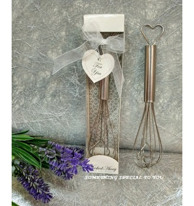 'WHISKED AWAY' STEEL WHISK - as low as RM6.00/PC