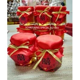 Oriental Theme Honey In Jar Favor