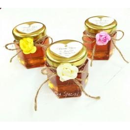 Lovely Honey In Jar Favor