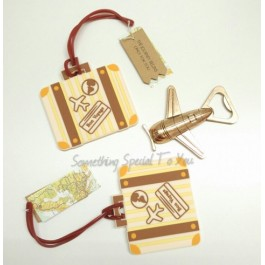 JOURNEY BEGINS TRAVEL BAG TAG - as low as RM5.40/pc