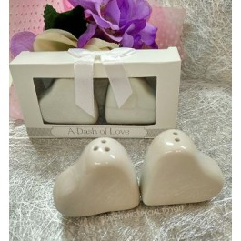 """A DASH OF LOVE"" SALT & PEPPER SHAKER - as low as RM4.20/pair"