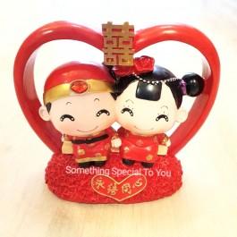 Wedding Figurine: Big Heart (永结同心)