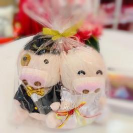 PIG WEDDING BEAR