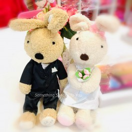Le Sucre Couple Doll | Wedding Bear In Pair
