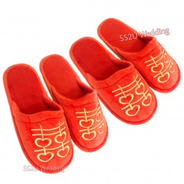 Room Bridal Slipper (2 Pair Set)