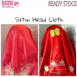 (Plain & Designed) Satin Head Piece 27.5 Inch