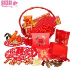 Groom's Betrothel Set, Chinese Customary Wedding Engagement Day Custom Guo Da Li 过大礼