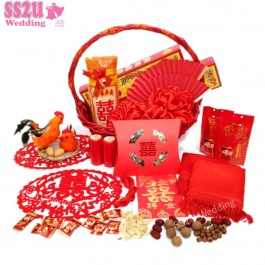 Groom's Betrothal Set, Chinese Customary Wedding Engagement Day Custom Guo Da Li 过大礼