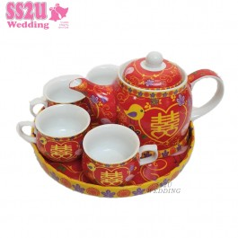 Lovebirds Hei (Ring) Teaset