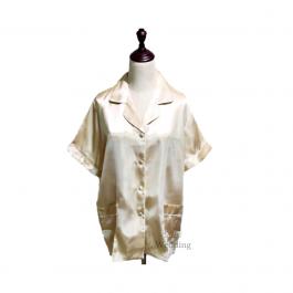 Cream Ladies Pyjamas (Plain)