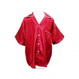 Maroon Men's Pyjamas (Plain)