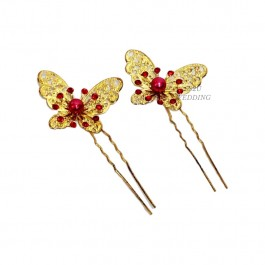 (2Pc) Butterfly Hair Accessories