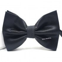(Black) 2 Layers Bow Tie