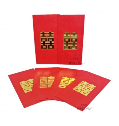 (6Pcs) Red Square Hei Angpow