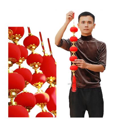 (Ready Stock) Hanging Lantern 5 CNY